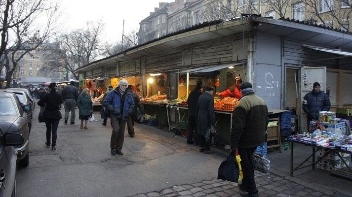 Женският пазар преди реконструкцията през 2011 г. Снимка: авторът