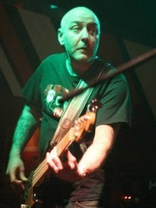 """Хубен Хубенов - Хуби, басист на """"Артерия"""". CC-BY Светла Енчева."""