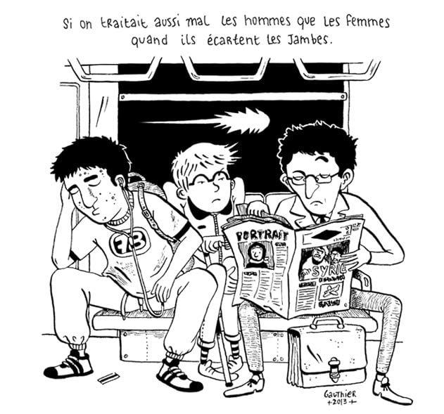 """Рисунка на АС-Готие, публикувана в блога """"365 дни""""."""