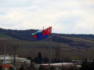 Българо-турската граница. Снимка: Дорейд Ал Хафид. Всички права запазени.