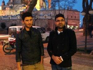 Шариф и Нафи. Снимка: Дорейд Ал Хафид. Всички права запазени.