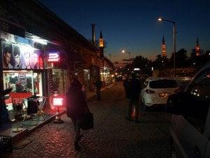 Одрин след залез. Снимка: Дорейд Ал Хафид. Всички права запазени.