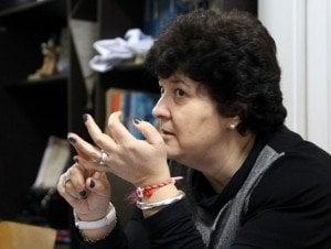 """Илияна Николова, Изпълнителен директор на Фондация """"Работилница за развитие на граждански инициативи"""". Снимка: Светла Енчева."""