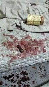 """Снимка, направена в 1 часа сутринта в """"афганистанската"""" част от лагера в Харманли. Авторът е бежанец, пожелал анонимност."""