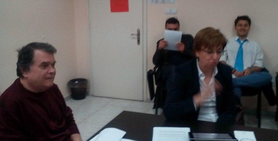 Участници в дискусията. Снимка: Марта Методиева.