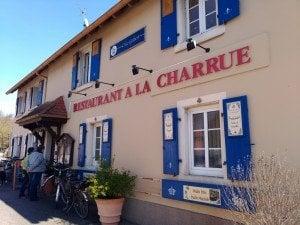 """Ресторант на улица """"Първа армия"""" в Лотербур, Франция. Снимка: Светла Енчева."""