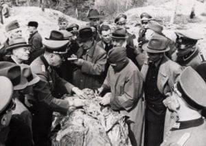Международната комисия за установяване на истината за Катин (снимка)