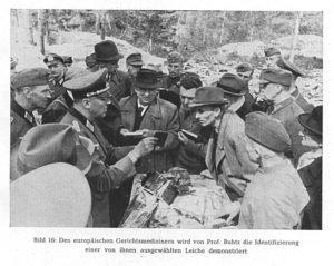 Аутопсията - 1943 г. (снимка)