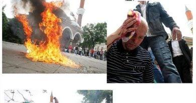 През 2011 година националисти окървавиха центъра на София