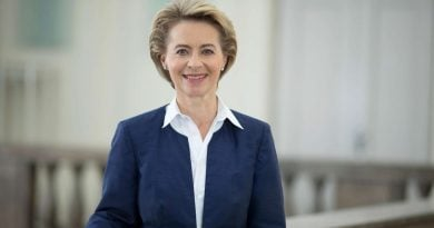 Световният еврейски конгрес поздравява Урсула фон дер Лайен за избирането й за председател на Европейската комисия