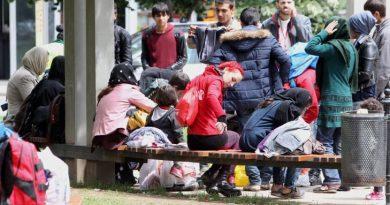 По случайност откриват коронавирус в убежището за мигранти в Бусманци