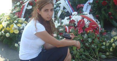 Български евреи поднесоха цветя  в памет на жертвите на ромския геноцид