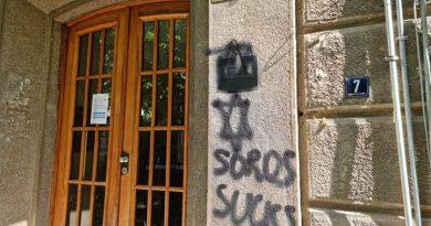 Софийски антисемити вандализираха офиса на БХК