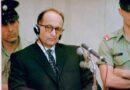 През юни 1962 година е обесен Айхман, нацистки лидер с ключова роля в Холокоста